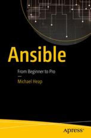 Advanced Ansible   SpringerLink
