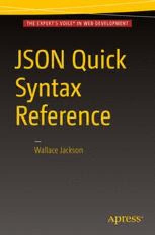 JSON Character Values: Defining Strings in JSON | SpringerLink