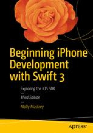 Beginning iPhone Development with Swift 3