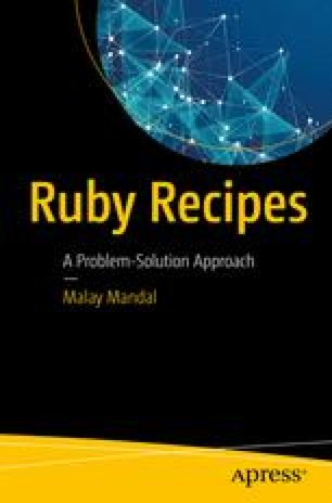 A Taste of Ruby | SpringerLink