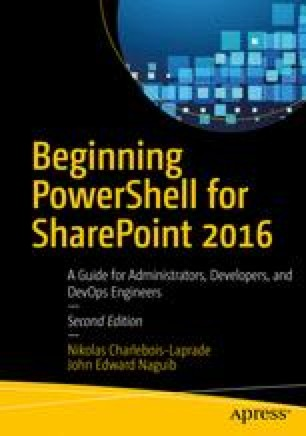 Installing and Deploying SharePoint with PowerShell