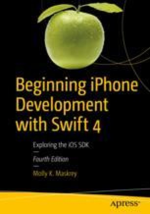 Beginning iPhone Development with Swift 4