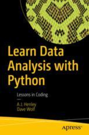 Getting Data Into and Out of Python | SpringerLink