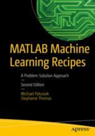 Representation of Data for Machine Learning in MATLAB