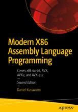 X86-64 Core Architecture | SpringerLink