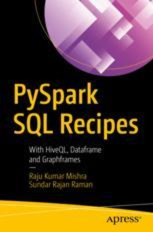 Operations on PySpark SQL DataFrames | SpringerLink