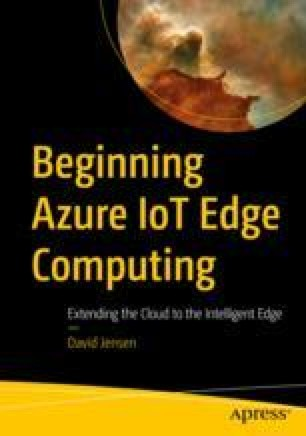 Azure IoT Edge Core Concepts | SpringerLink