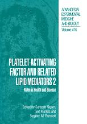 Platelet-Activating Factor and Related Lipid Mediators 2