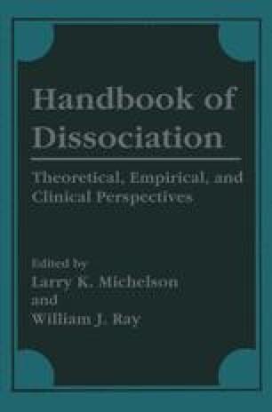 Handbook of Dissociation