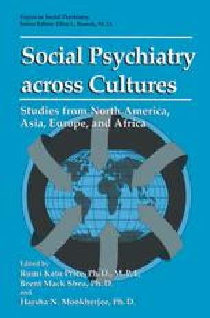 Social Psychiatry across Cultures