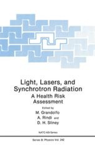 Light, Lasers, and Synchrotron Radiation