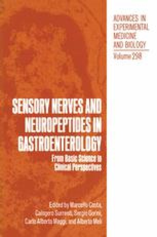 Sensory Nerves and Neuropeptides in Gastroenterology