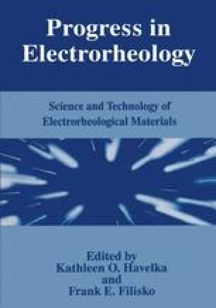 Progress in Electrorheology