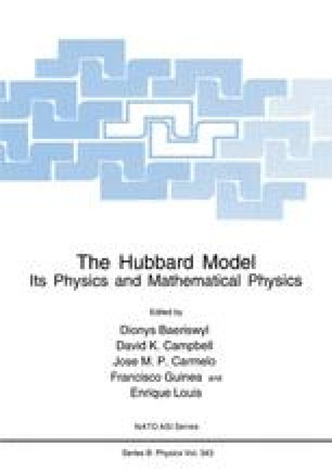 The Hubbard Model