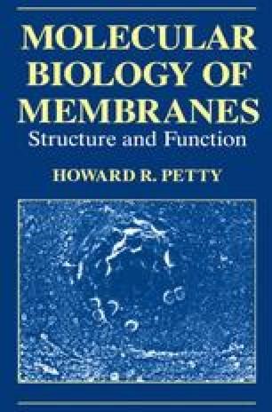 Molecular Biology of Membranes