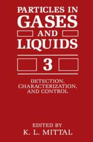 Particles in Gases and Liquids 3