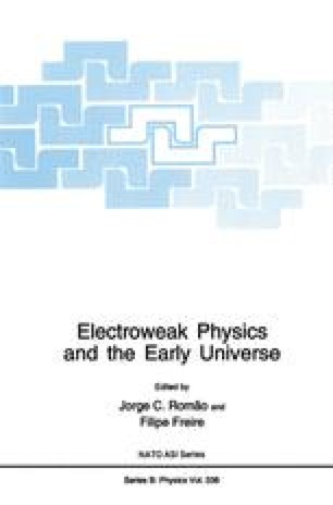 Electroweak Physics and the Early Universe