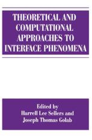 Theoretical and Computational Approaches to Interface Phenomena