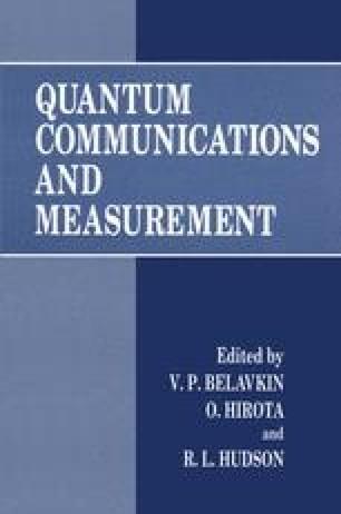 Quantum Communications and Measurement