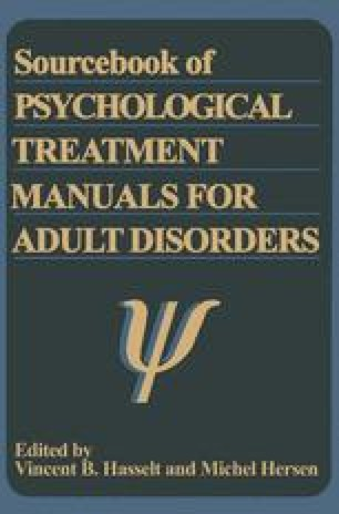 Sourcebook of Psychological Treatment Manuals for Adult Disorders