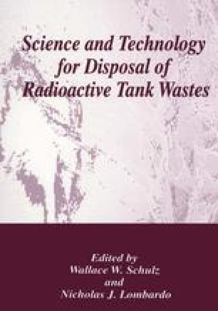 Science and Technology for Disposal of Radioactive Tank Wastes