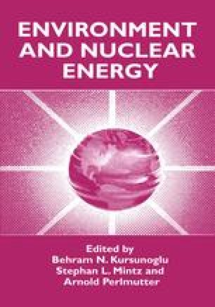 Environment and Nuclear Energy