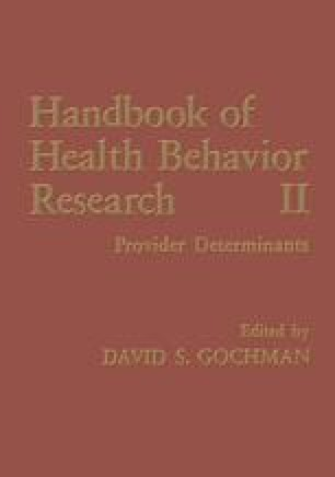 Handbook of Health Behavior Research II