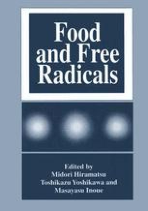 Food and Free Radicals
