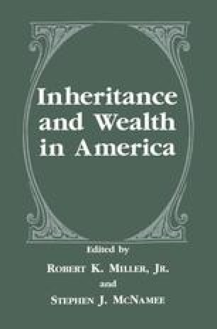 Inheritance and Wealth in America