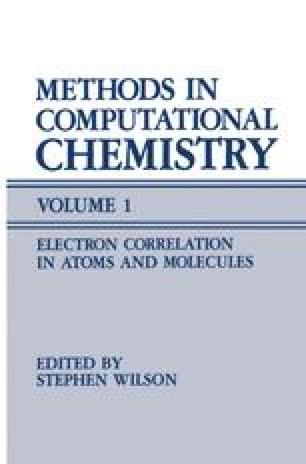 Methods in Computational Chemistry