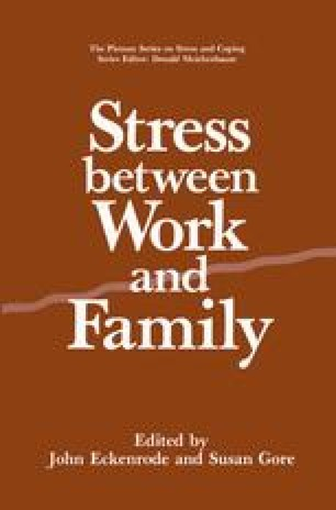 Stress Between Work and Family
