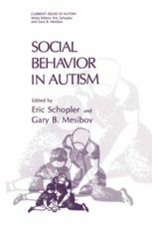 Social Behavior in Autism