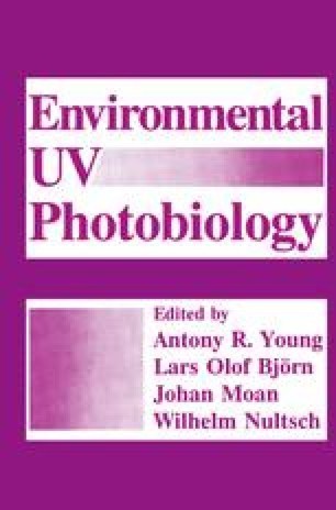 Environmental UV Photobiology
