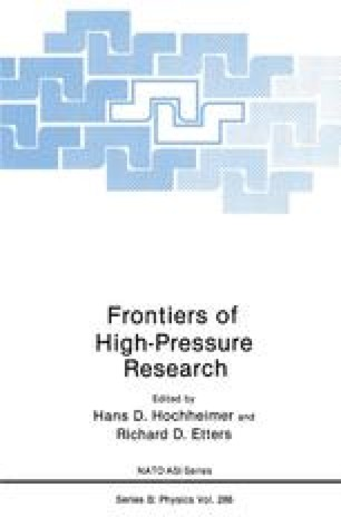 Frontiers of High-Pressure Research
