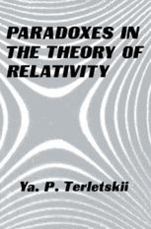 Paradoxes in the Theory of Relativity