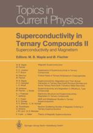 Superconductivity, Magnetism and Their Mutual Interaction in Ternary