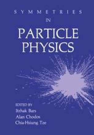 Symmetries in Particle Physics