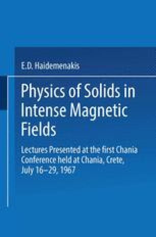 Physics of Solids in Intense Magnetic Fields