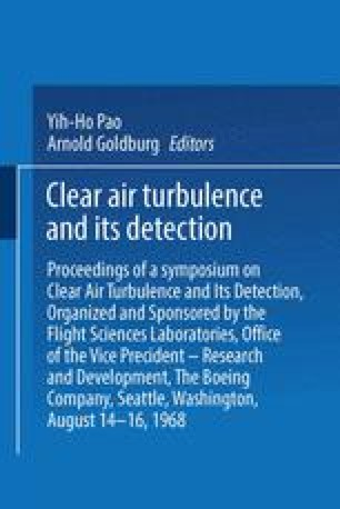 Clear Air Turbulence and Its Detection