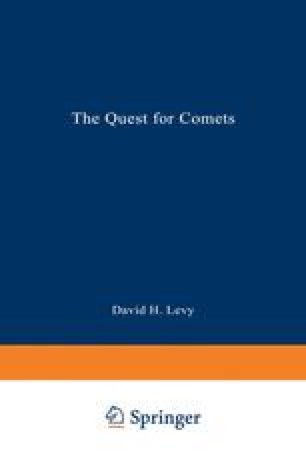 The Quest for Comets