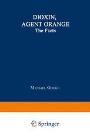 Dioxin, Agent Orange