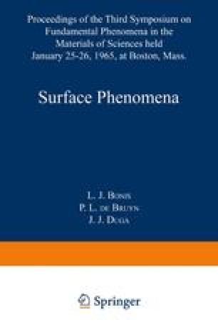 Surface Phenomena