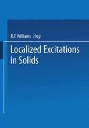 Localized Excitations in Solids