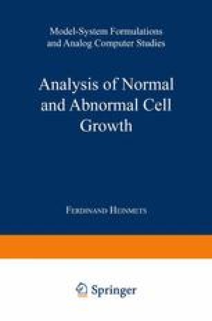 Analysis of Normal and Abnormal Cell Growth