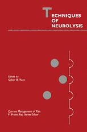 Techniques of Neurolysis