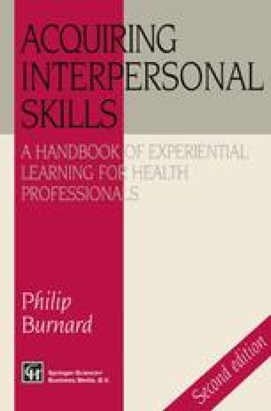 Acquiring Interpersonal Skills