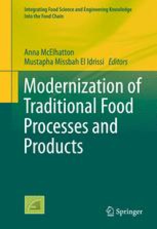 Modernization of Traditional Food Processes and Products
