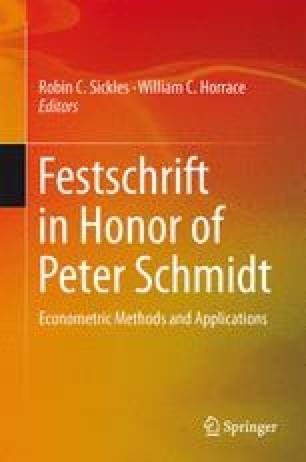 Festschrift in Honor of Peter Schmidt
