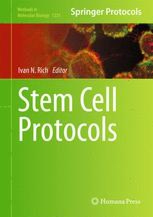 Stem Cell Protocols