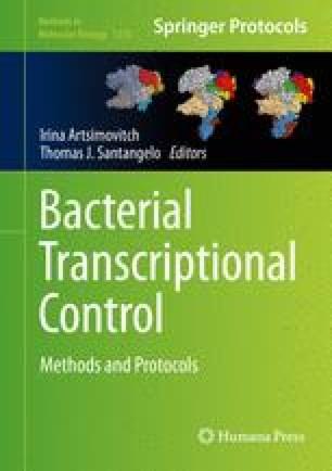 Bacterial Transcriptional Control